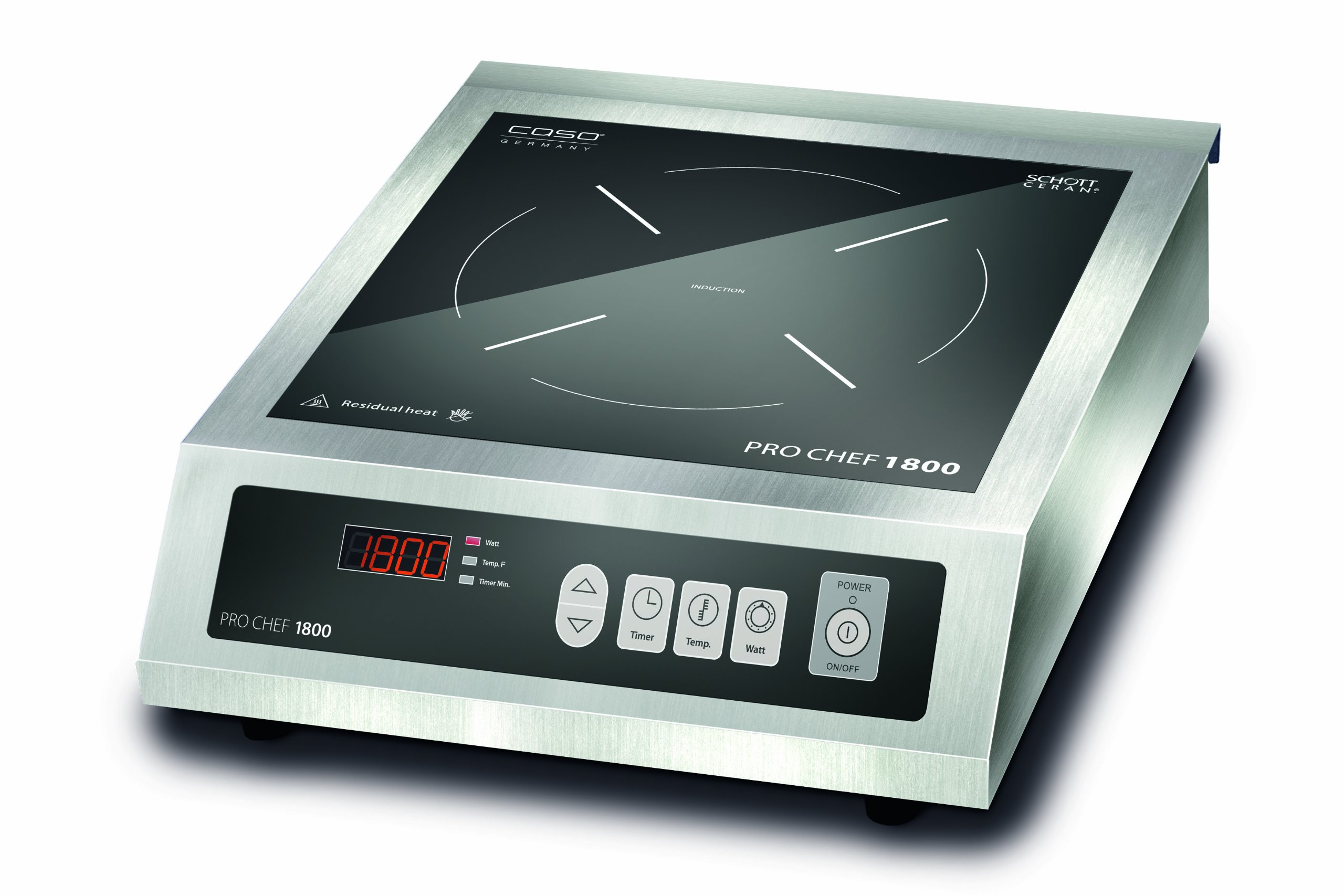 CASO Germany Pro Chef Commercial Induction Burner