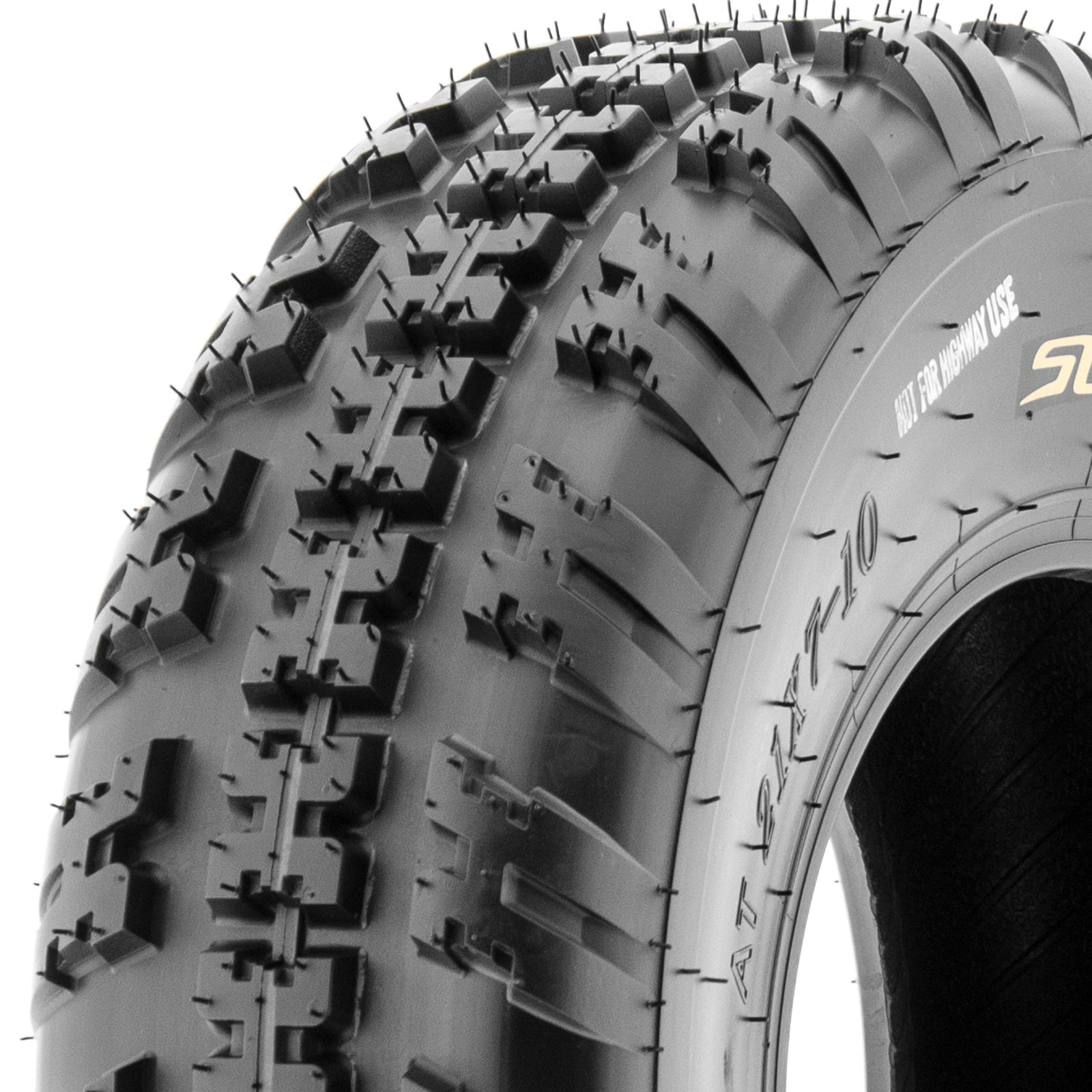 SunF Knobby Sport ATV Tires 20x6-10 & 18x10-8 4/6 PR A031 (Complete set of 4) by SunF (Image #8)