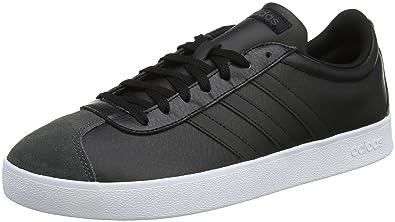 adidas VL Court 2.0, Chaussures de Fitness Homme, Noir (Negbas/Negbas/Ftwbla 000), 42 EU