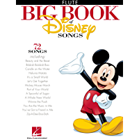 The Big Book of Disney Songs Songbook: Flute book cover