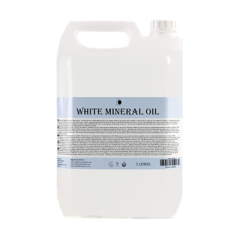 Mystic Moments Weiß Mineralöl Trägeröl - 10 Liter - 100% Pur