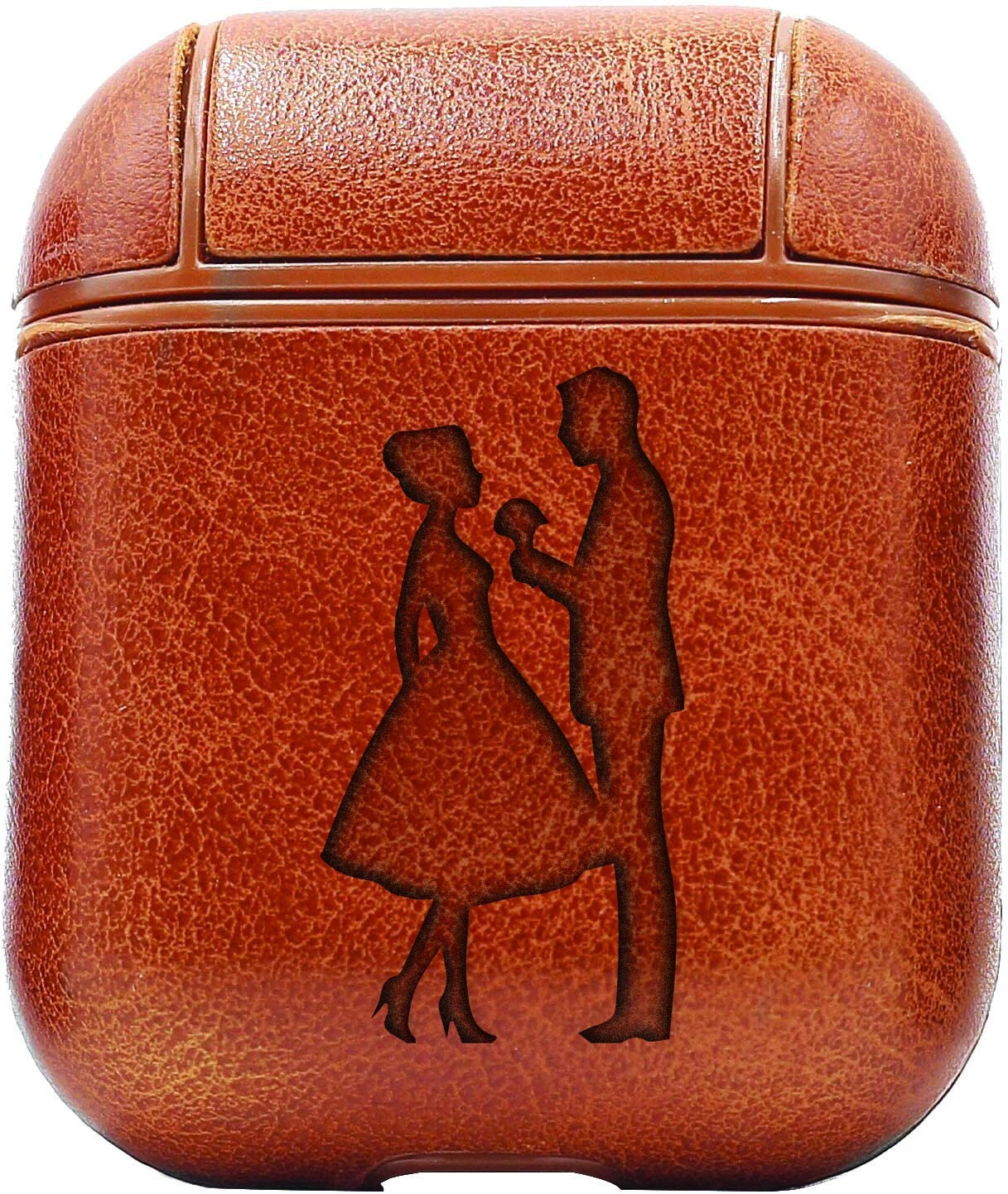 Vintage Brown Romantic AirPods Cases