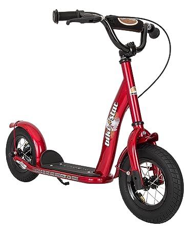 Bikestar 10 inch (25.4 cm) Kids Kick Scooter Red