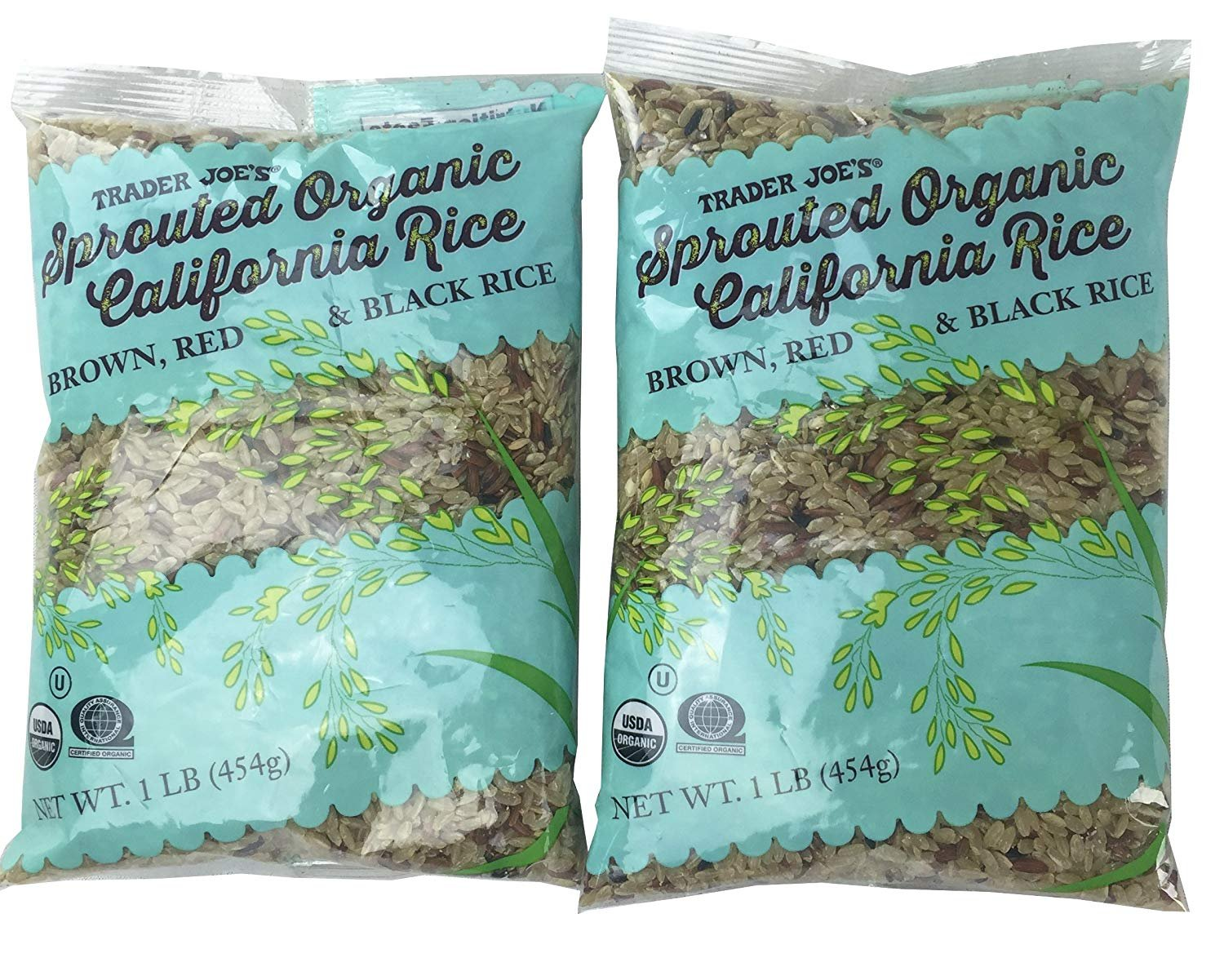 Amazon.com : Trader Joes Sprouted Organic California Rice 2 Pack ...