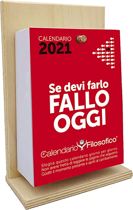 Il Calendario Filosofico 2021 – L'originale – con supporto in