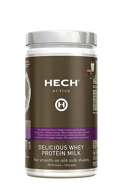 HECH ACTIVE Delicious Proteína de suero de leche de ...