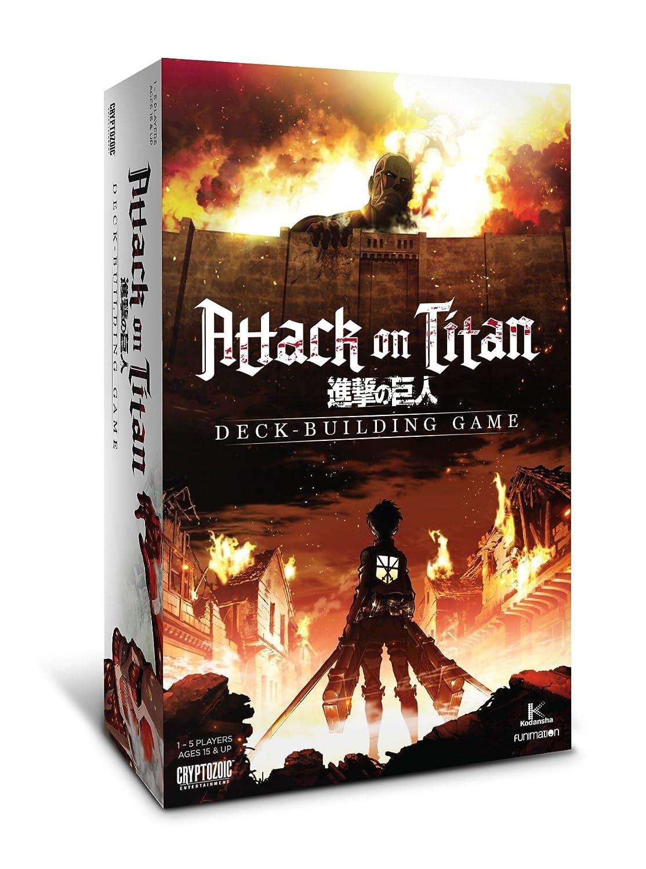 descuento de bajo precio Attack On Titan Deck Building Card Card Card Game by Cryptozoic Entertainment  tienda de descuento