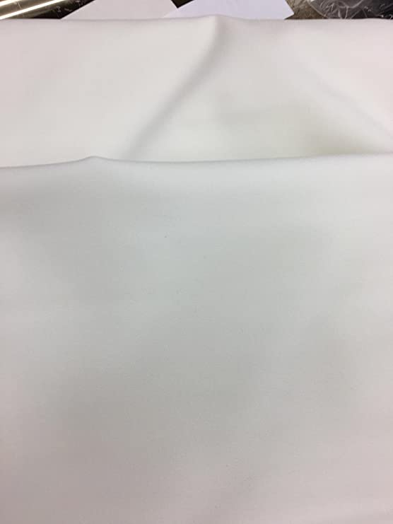 White Cotton Woven FUSIBLE INTERFACING Med 3 Yards x 45 Weight