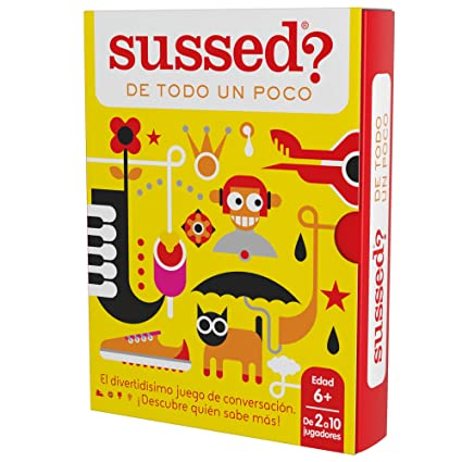 Amazon.com: SUSSED DE TODO UN Poco (Divertidísimo y Familiar ...