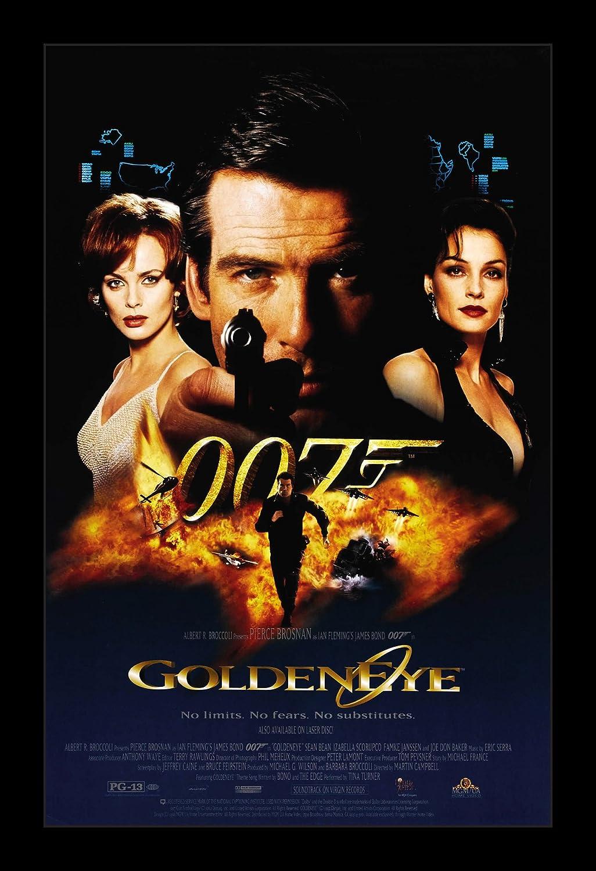 Wallspace James Bond Goldeneye - 11x17 Framed Movie Poster