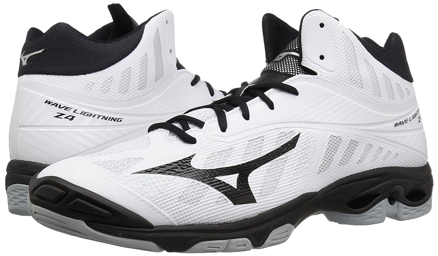 mizuno wave lightning z4 womens volleyball shoes vintage price
