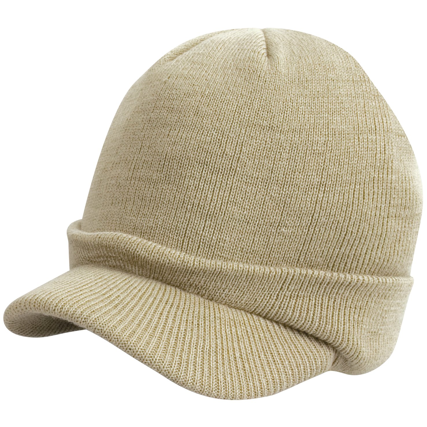 Result Childrens//Kids Big Boys Esco Army Peaked Knitted Winter Hat