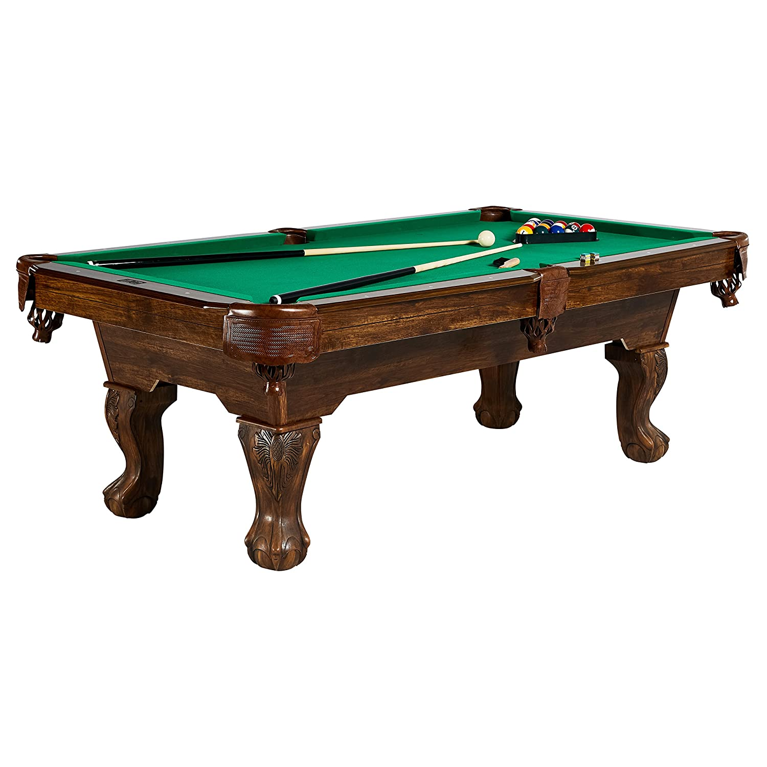 Brunswick oakhill 8 foot billiard table dealepic for Brunswick pool tables