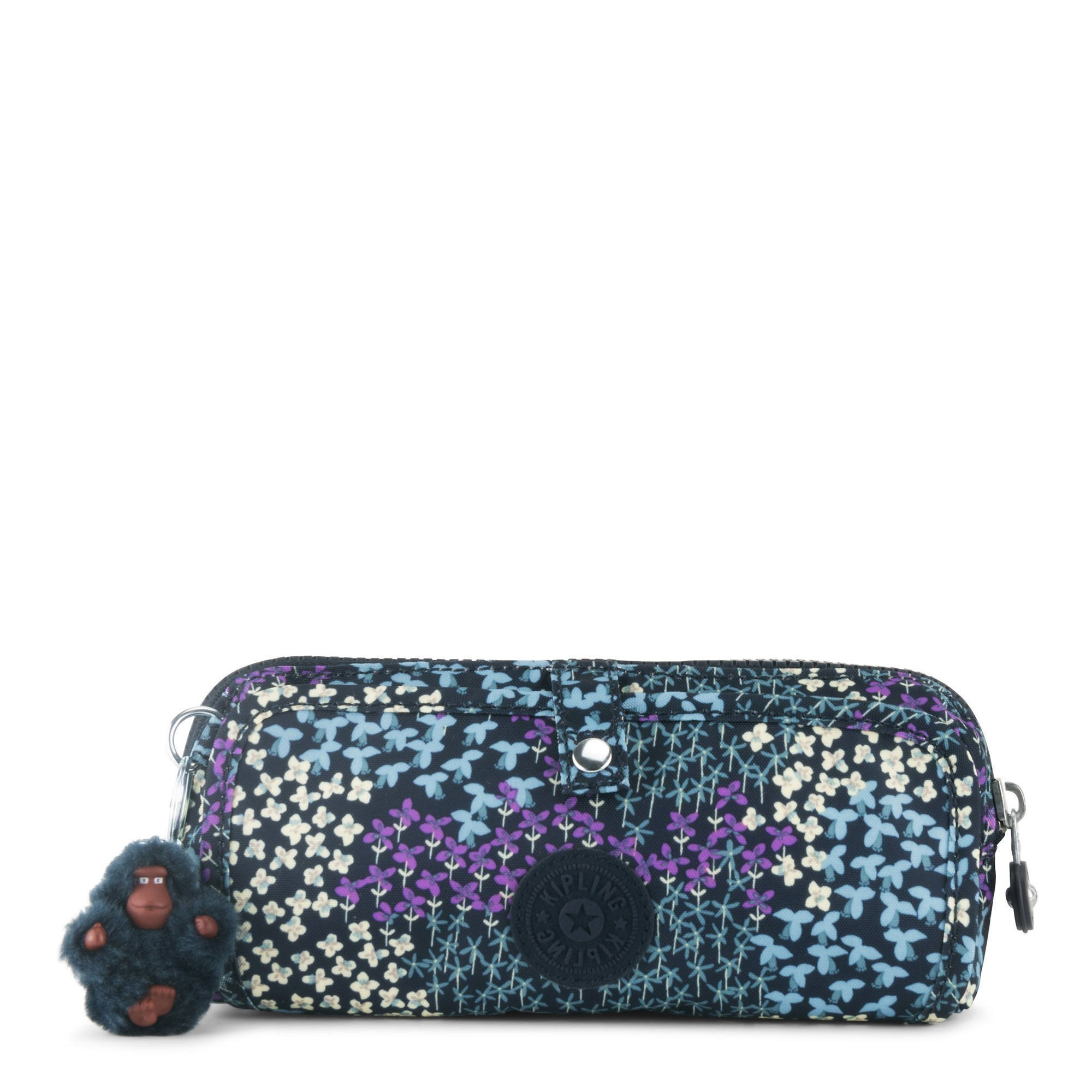 Kipling Women's Wolfe Printed Pencil Pouch One Size Dotted Bouquet