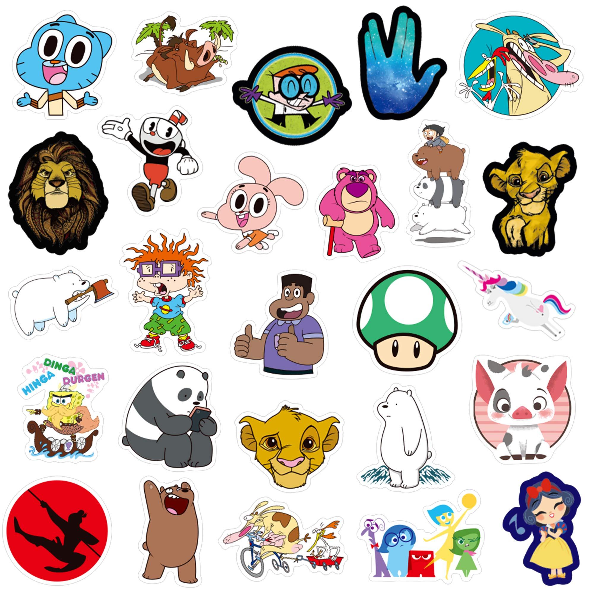 Stickers Calcos 101 un. Surtidos Origen U.S.A. (7QLJ1QHH)