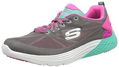Skechers Valeris Front Page - Zapatillas de deporte para mujer: Amazon.es: Zapatos y complementos