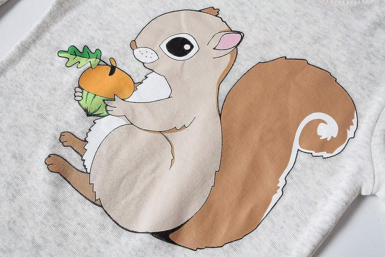 Dolphin/&Fish Boys and Girls Soft Pajamas 100/% Cotton Toddler Pjs Long Sleeve Kid Sleepwear Sets