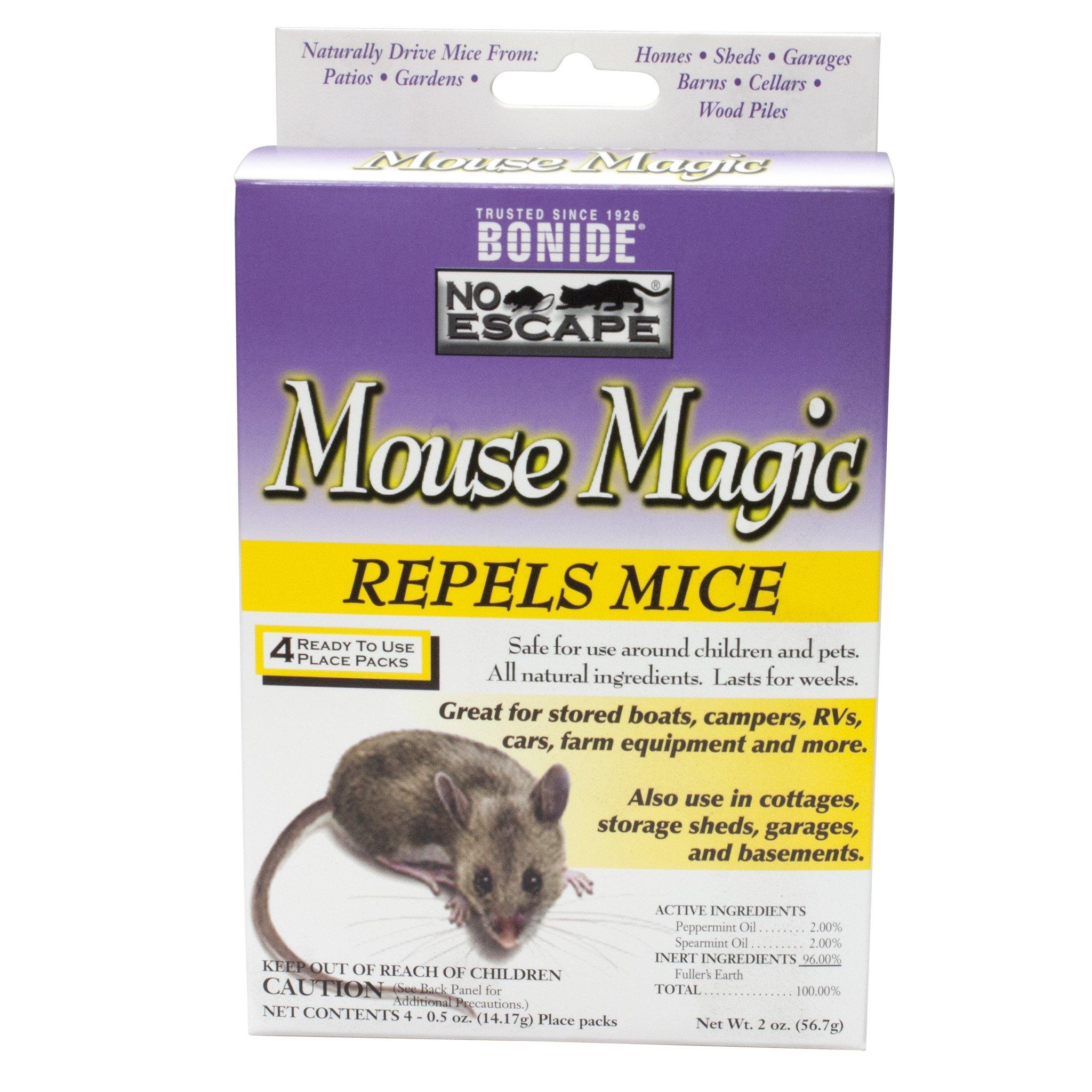 Bonide Mouse Magic - CASE (12 boxes of 4 place packs)