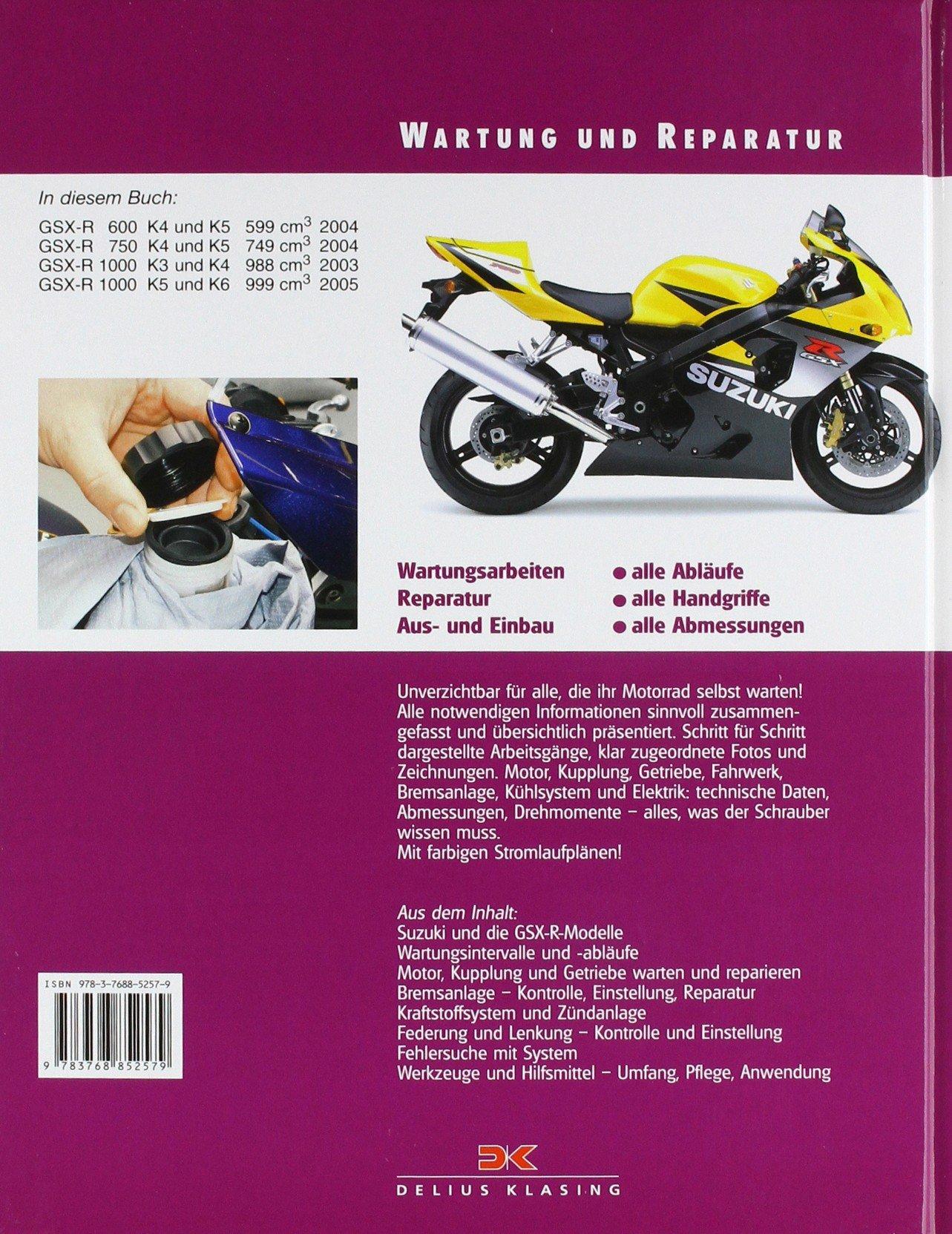 Suzuki GSX-R 600/750/1000: Amazon.de: Matthew Coombs: Bücher