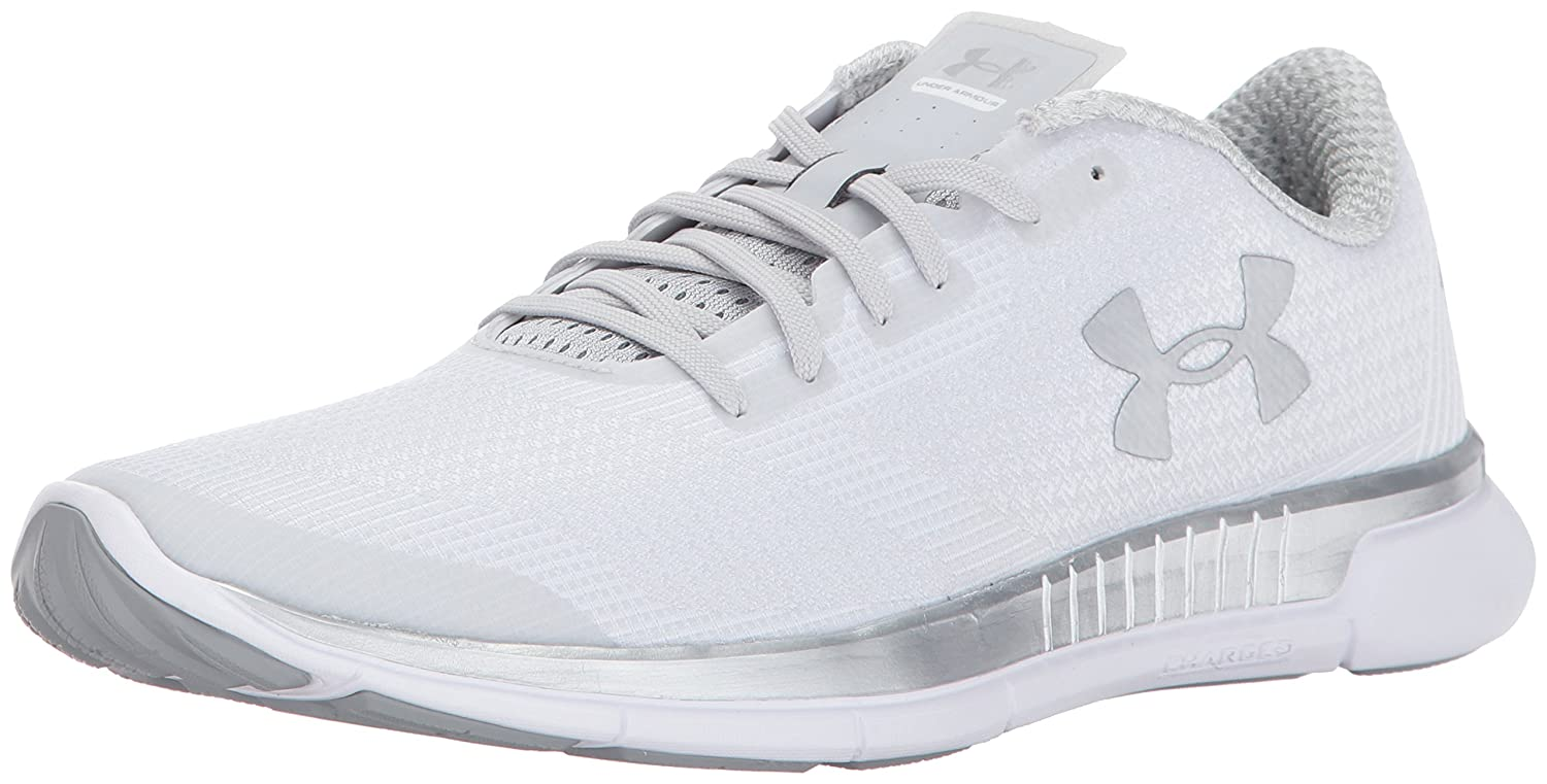 Under Armour Shoe Women's Charged Lightning Running Shoe Armour B01MRWR7IA 12 M US|Glacier Gray (004)/White 38083f