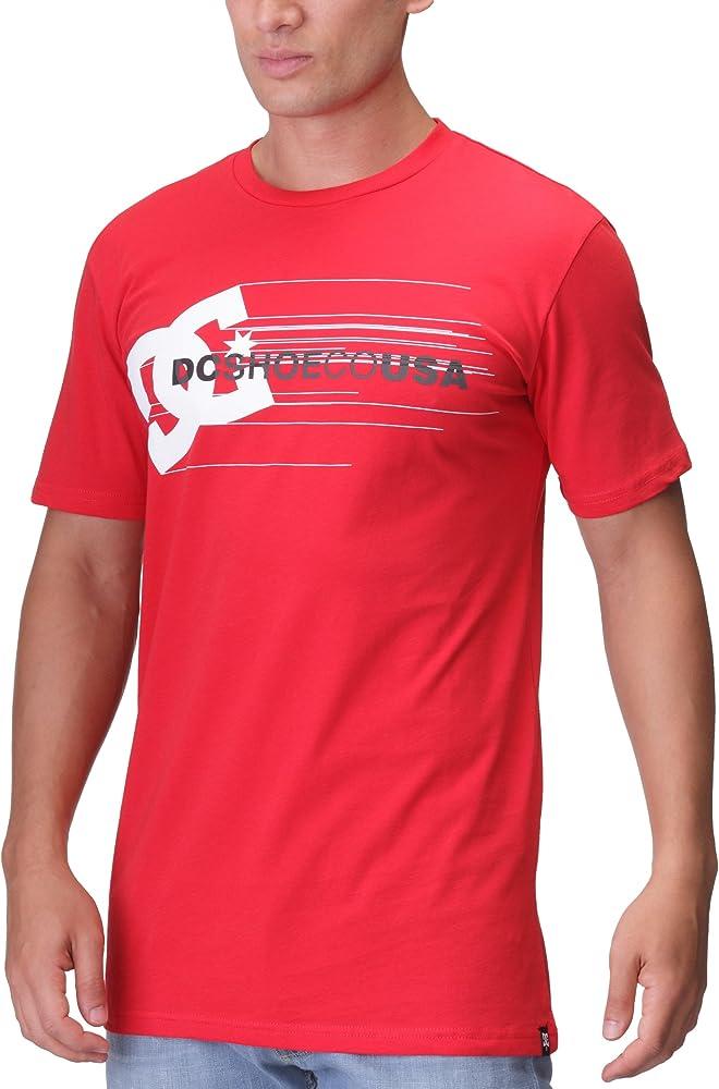 DC Shoes - Camiseta de Running para Hombre, tamaño XL, Color Rojo: Amazon.es: Ropa y accesorios