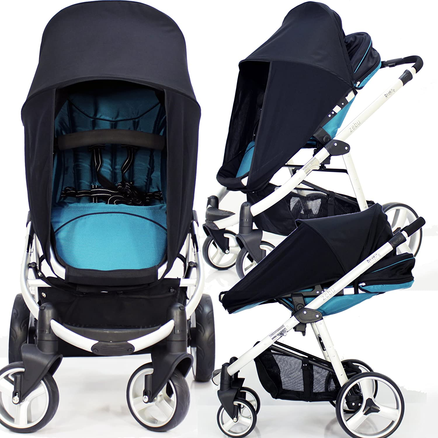 New Sunny SAIL Stroller Pushchair Buggy Shade Canopy to FIT Silver Cross
