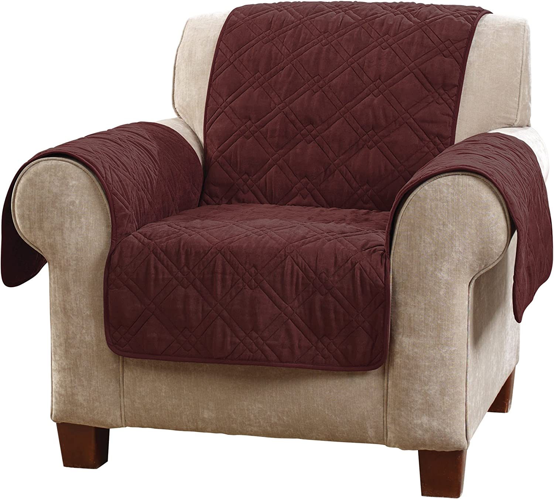 SureFit Chair Slipcover, Wine