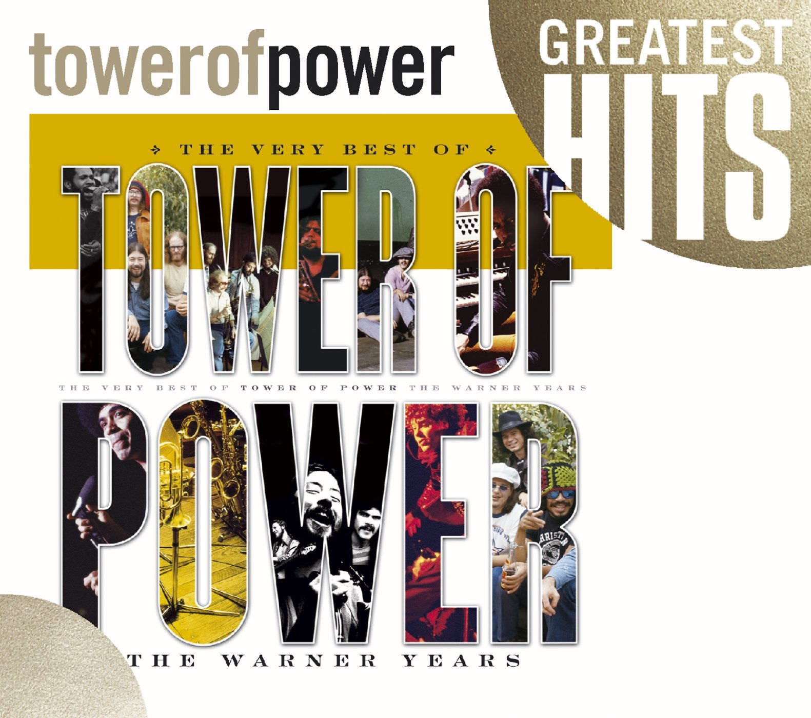 CD : Tower of Power - Very Best of Tower of Power: The Warner Years (CD)