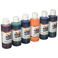 S&S Worldwide PT3265 Color Splash! Liquid Watercolor Paint, 8 oz. (Pack of 6)