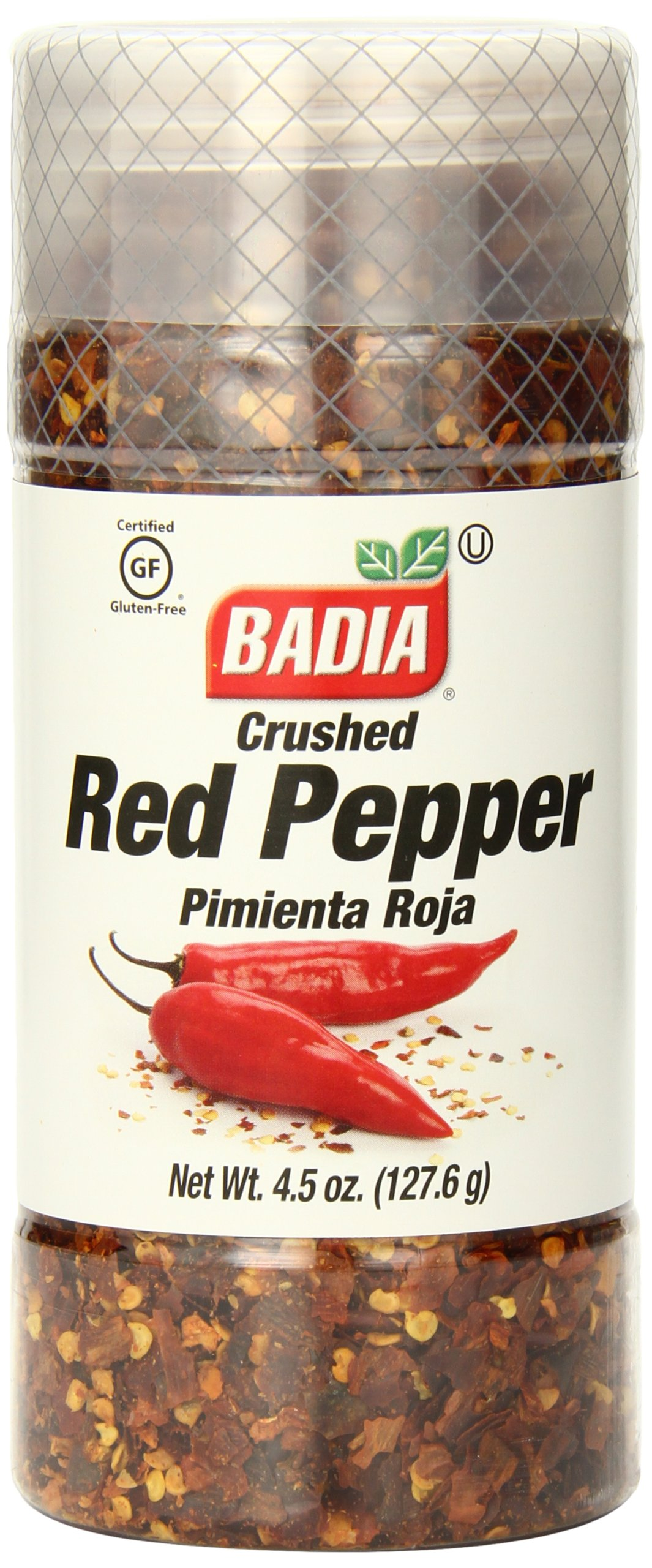 Badia Red Pepper Crushed, 4.5 Ounce (Pack of 12)