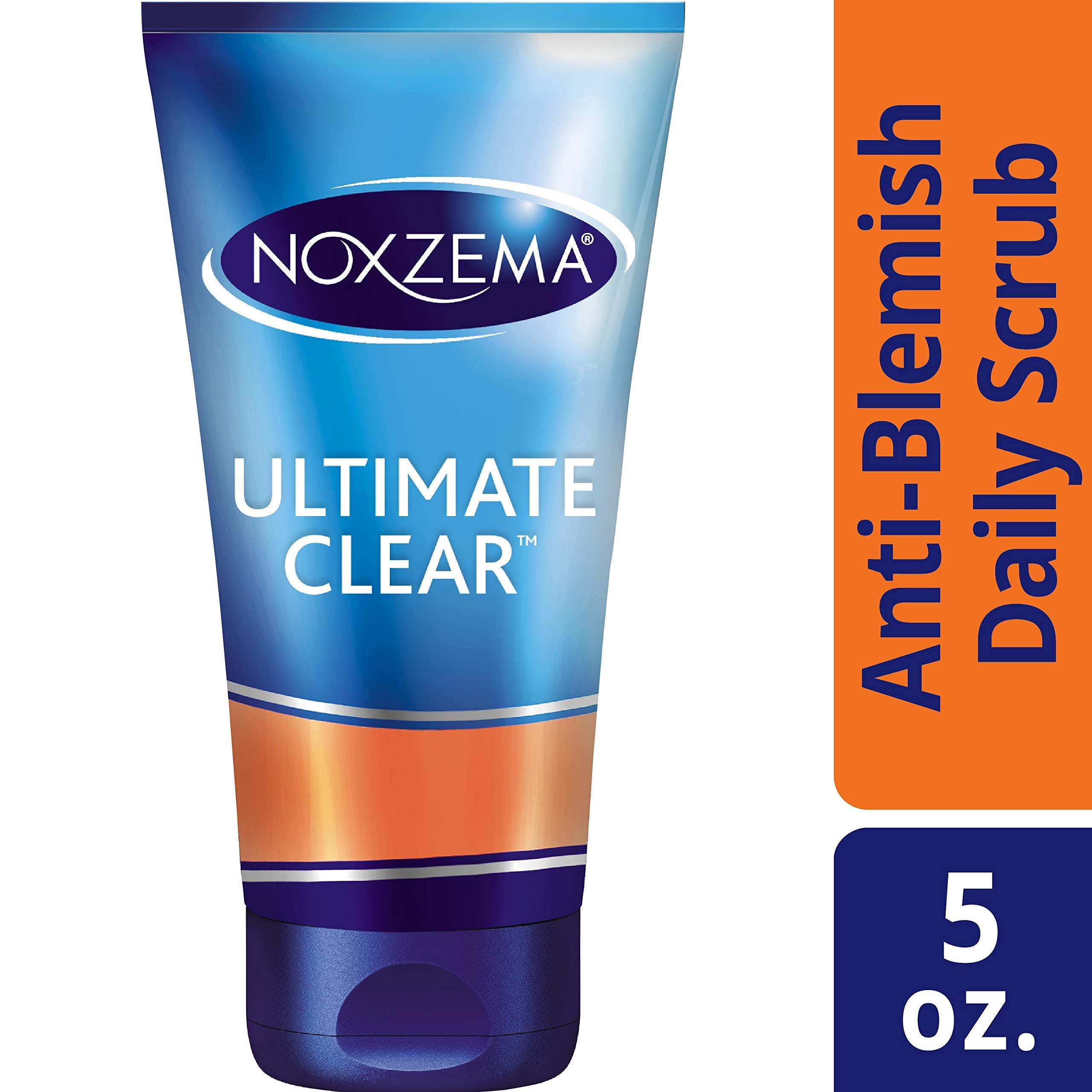 Noxzema Ultimate Clear Anti-Blemish Daily Deep Pore Face Scrub 5 ounce, 6 Count by Noxzema