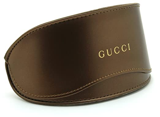 new style 57a79 4f715 Amazon.com: Gucci Oversized Glasses Sunglasses Case w/Cleaning Cloth ...