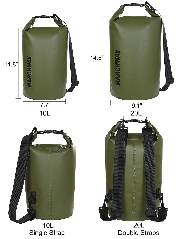 Amazon.com: MARCHWAY Bolsa de secado impermeable flotante 5 ...