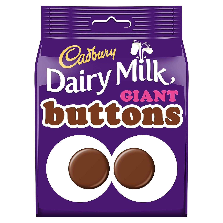 54cfbe3fc82e2 Cadbury Dairy Milk Giant Buttons Chocolate Bag, 119g