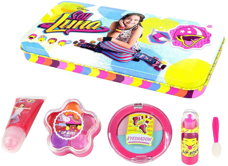 Disney Soy Luna di bellezza Set per le ragazze (Trucco per labbra e occhi) in Stylischer XL scatola di metallo con Soy Luna della Stampa 9620510