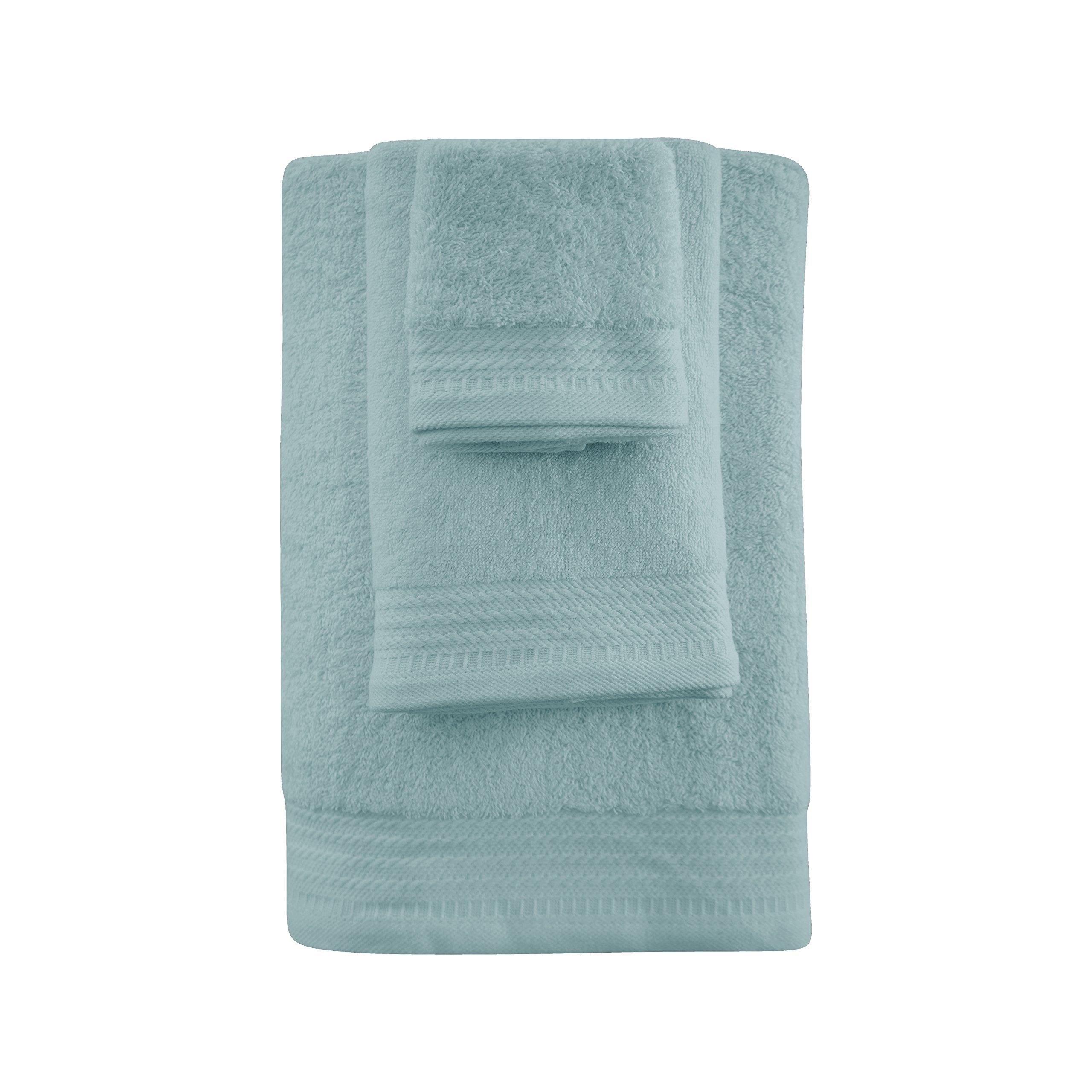Eiffel Textile Juego de Toallas, Algodón, Aguamarina, 100x150x10 cm, 3 Unidades product