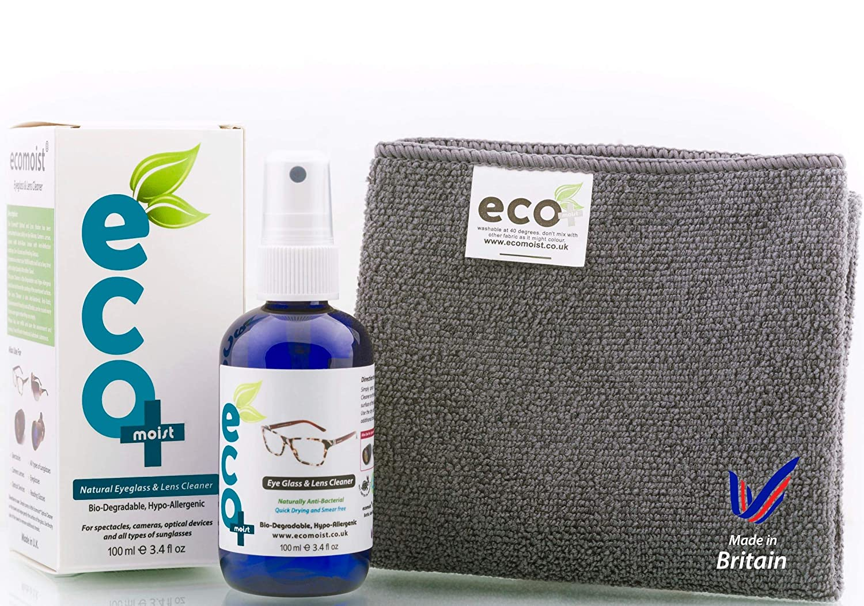 ecdbbbf3757 Lens Cleaner Natural Ecofriendly Ecomoist Microfiber  Amazon.co.uk  Camera    Photo