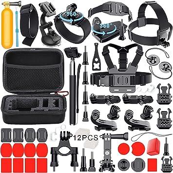 Leknes Zubehör Bundle Set für GoPro Hero 6 5: Amazon.de: Elektronik