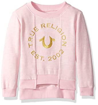 098009726 Amazon.com  True Religion Girls  Hoodie Sweatshirt  Clothing