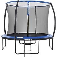 SONGMICS trampoline Ø 366 cm, ronde tuintrampoline met veiligheidsnet, met ladder en gewatteerde spijlen…