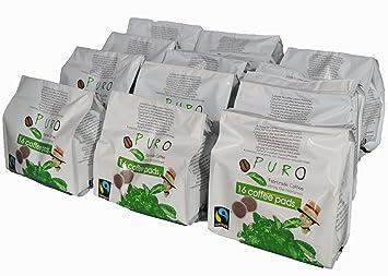 Puro monodosis 192 Pads Coffee Pads para Senseo Comercio Justo de Miko Café Grande Paquete (16 x 12 Pads): Amazon.es: Oficina y papelería