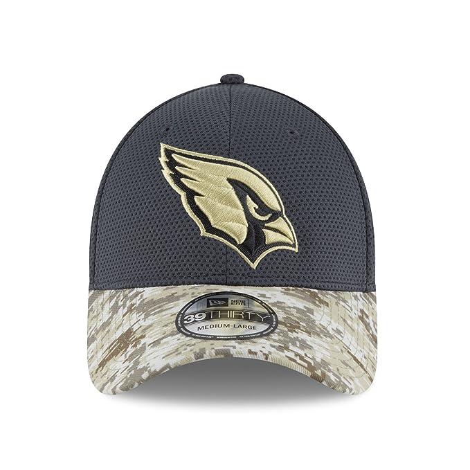 6f7eccecb90 Amazon.com   Arizona Cardinals New Era 39THIRTY 2016 Sideline