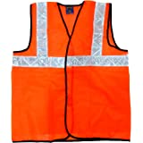 TheCoolio Safe Dot Reflector / Safety Jackets (Plain Orange) - Regular Pattern
