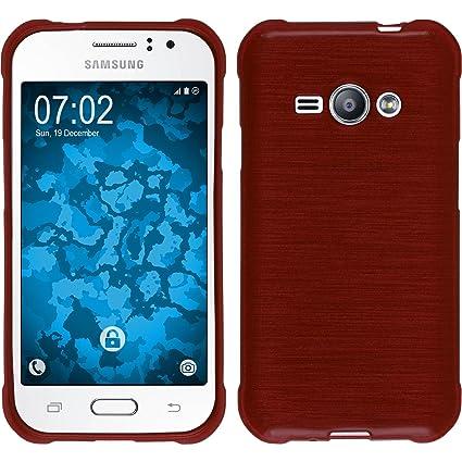 Amazon.com: Carcasa de silicona para Samsung Galaxy J1 Ace ...