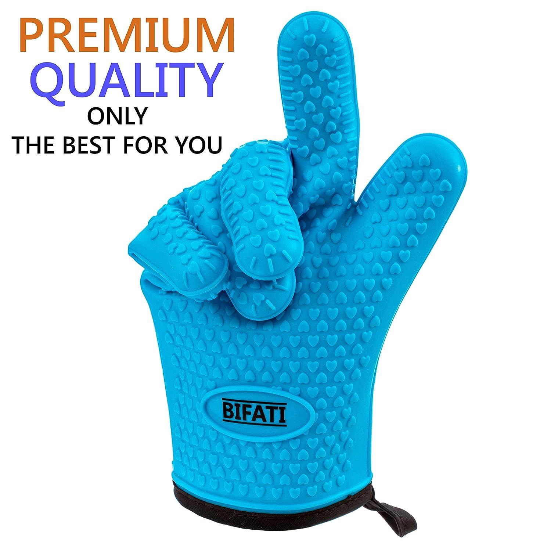 Amazon.com : BIFATI Silicone BBQ Gloves with Pull Pork Bear Claw ...