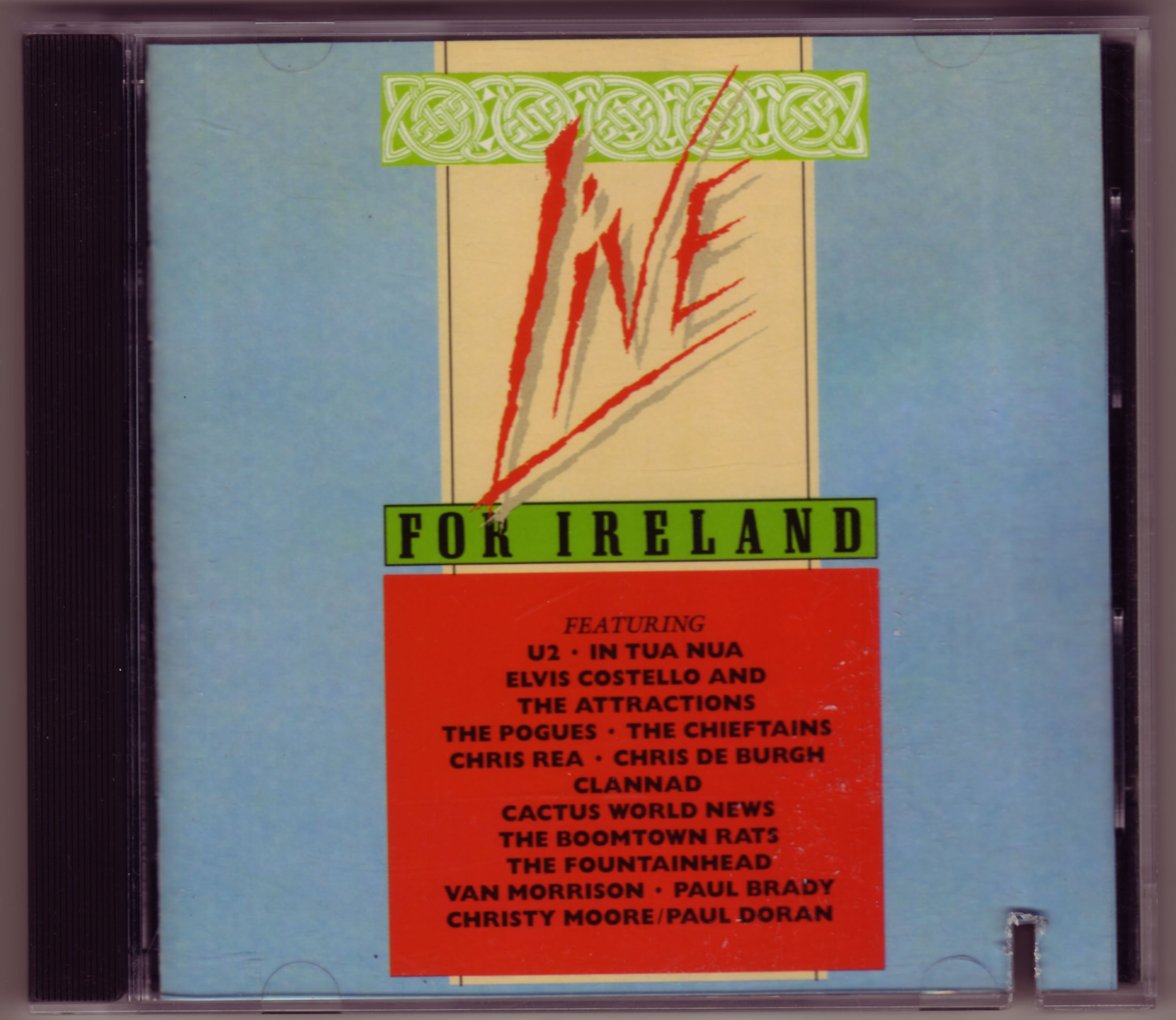 Live for Ireland by MCA