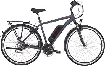 Fischer ETD 1806 - Bicicleta eléctrica para mujer (28