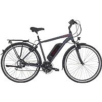 "Fischer Damen - E-Bike Trekking ETD 1806 (2019), dunkel anthrazit matt, 28"", RH 44 cm, Hinterradmotor 45 Nm, 48 Volt Akku, 422 Wh"