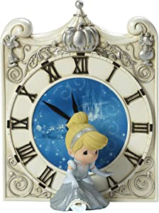 Precious Moments Disney Cinderella Midnight Magic Clock with LED Slipper 173461
