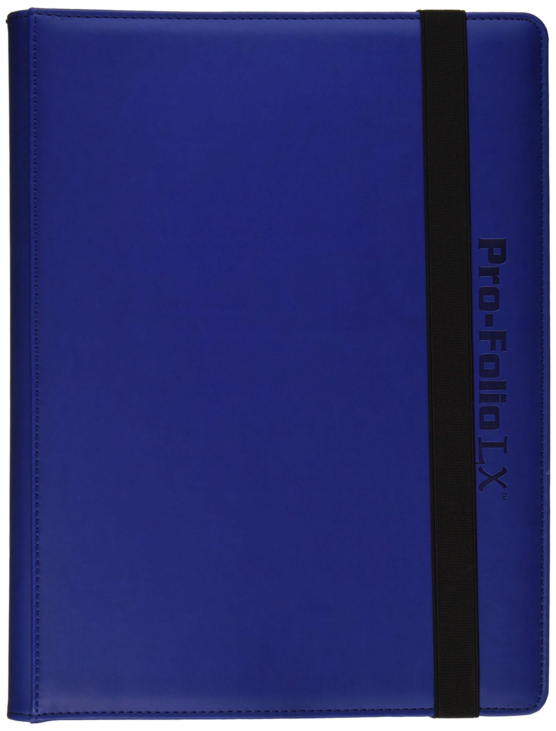Pro-Folio 9-Pocket LX Album, Blue